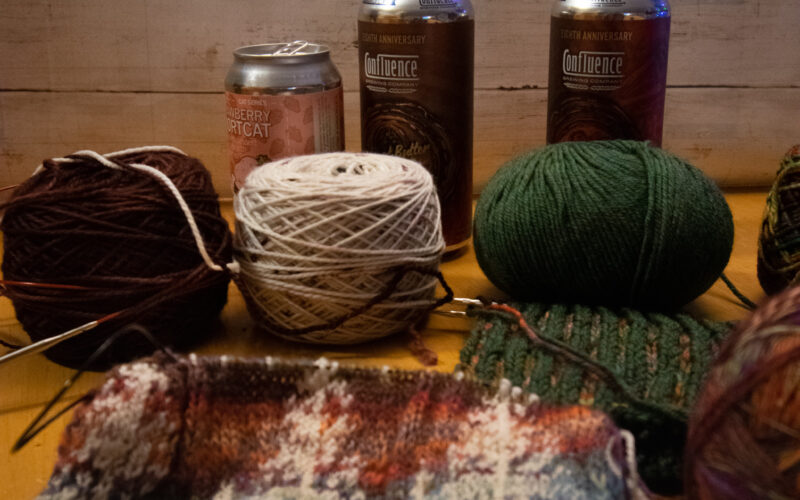 Yarn Balls and Beer Cans